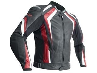 RST R-18 Jacket CE Leather Red Size S Men