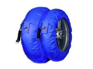 Calentadores Capit Suprema Spina Moto3 Azul (Del.90/17''-Tra.120/16-17'')