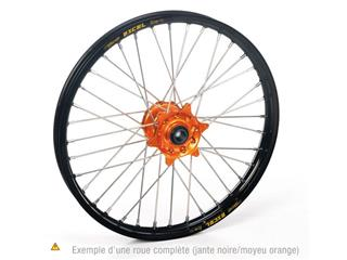 HAAN WHEELS Komplett bakhjul 16X1.85 Svart Fälg/Orange Nav KTM SX85