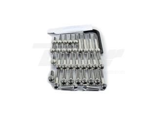 Kit tornillería aluminio motor+cárter Pro-Bolt ESU146G Oro