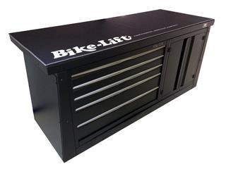 Meuble 2m BIKE LIFT 5 tiroirs/armoire - 89080002