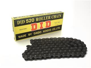 D.I.D 520 Ketting Zwart/Zwart 120 Schakels RJ Clip