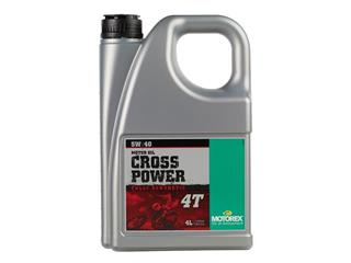 MOTOREX Cross Power 4T 5W40 Synthetic Motor Oil 4L