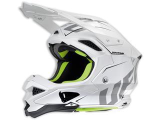 UFO Diamond Helmet White Size S - HE037S