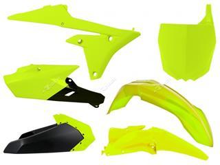 Kit plastique RACETECH jaune fluo/noir Yamaha YZ250F/450F - 7804700