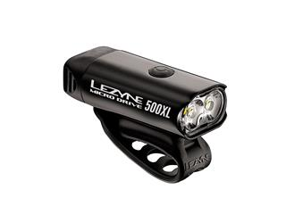 FRONT LIGHT LEZYNE MICRO DRIVE 500XL  5 MODES USB-CHARGING