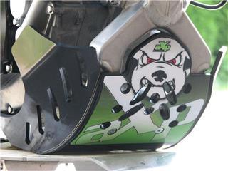 AXP GP HDPE Skid Plate Black Kawasaki