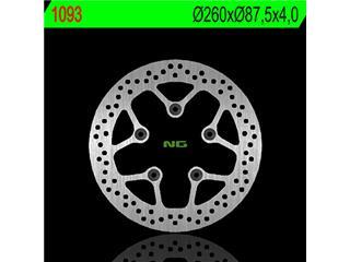 Disque de frein NG 1093 rond fixe