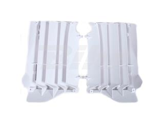Aletines de radiador Polisport Honda Blanco 8456300001