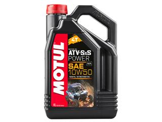 MOTUL ATV SxS Power 4T Motor Oil SAE 10W50 100% Synthetic 4L