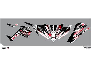 KUTVEK Rotor Graphic Kit Black Kymco Maxxer 450