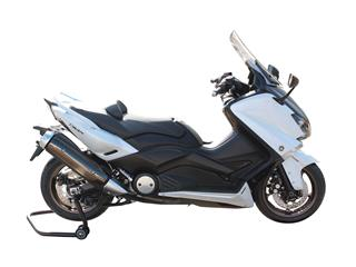 Béquille avant + arrière BIHR BY LV8 avec supports en V + L noir Yamaha T-Max 530 - f50a13ba-d6a6-4bba-8857-66df598eaa7e