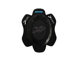 OXFORD Rok Oval Sparkie Knee Sliders Kniebeschermers Zwart