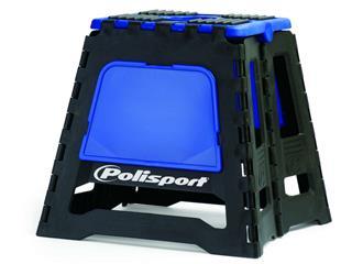 Lève-moto fixe POLISPORT repliable bleu/noir - PS028B01