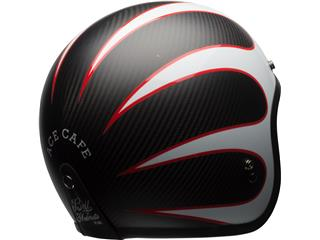 Casque BELL Custom 500 Carbon Ace Cafe noir/blanc taille L - f55b67e0-3df2-460b-93fa-716f87bfcf5a