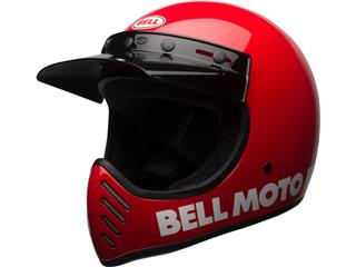 Casque BELL Moto-3 Classic Red taille M - 7081035