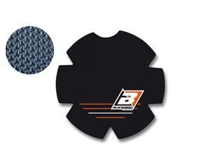 BLACKBIRD Clutch Cover Sticker Black/Orange KTM SX-F