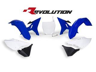 Kit plastiques de rechange RACETECH Revolution bleu/blanc Yamaha YZ125/250 - 7804637