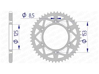AFAM Rear Sprocket 49 Teeth Aluminium Ultra-Light 520 Pitch Type 11212N