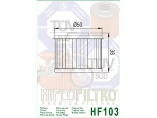 Filtro de aceite Hiflofiltro HF103 - f6b67aae-cf16-45ce-bb11-c9e8bad65770