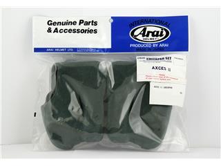 ARAI Cheek Pads 30 mm (S-M Standard Thickness) for Axces II Helmet