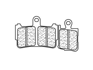 Plaquettes de frein CL BRAKES 1216A3+ métal fritté - f6e40aa8-2a50-4904-bb63-35e3c39fc7d4