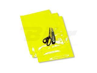 AUTOCOLANTE fundo para dorsal Blackbird amarelo flúor - Pack de 3 uds 5051/50