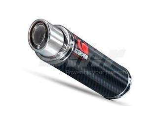 Escape Scorpion Stealth Honda CBR 600RR (07-) Carbono/Inox