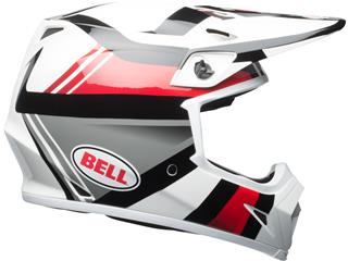 Casque BELL MX-9 MIPS Gloss White/Black/Red Marauder taille XXL - f7167573-092e-44fb-88ef-a4bb631ab503