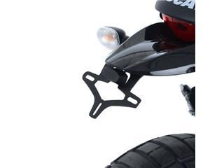 R&G RACING Licence Plate Holder Black Ducati Desert Sled - 6200000401