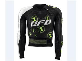 UFO Enigma bodyguard white/black/green size XXL