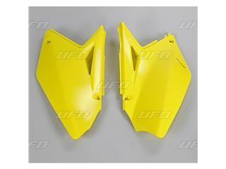 Plaques latérales UFO jaune Suzuki RM-Z250 - 78328864
