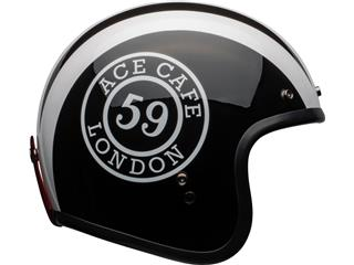 Casco Bell Custom 500 DLX ACE CAFE 59 Negro/Blanco, Talla S