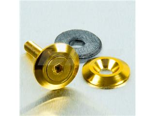 Arandela de Aluminio avellanada M5 (19mm ØExt.) oro LWAC5G