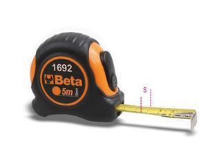 BETA 5m Measuring Tape ABS Casing Steel Tape Precision Class II