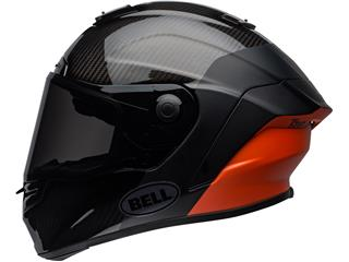 BELL Race Star Flex DLX Helmet Carbon Lux Matte/Gloss Black/Orange Size L - f8bb8f88-aeb0-44b5-9c28-75516fa7ca9b