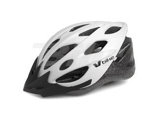 Capacete V Bike MTB/Road 20 aberturas de ventilação brancotamanho M (55-58cm)