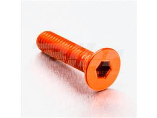 Tornillo de Aluminio Pro-bolt avellanado M6 x (1.00mm) x 25mm naranja LCS625O