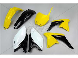 UFO Plastic Kit OEM Color Yellow/Black/White Suzuki RM-Z250 - f909a293-2d20-47b7-a455-d4be4847f0fa