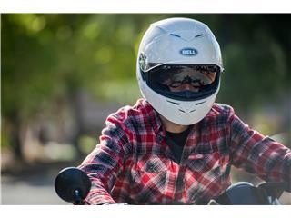 BELL RS-2 Helmet Gloss White Size M - f90f5578-cd9a-4c54-8d8f-11b83f45404f