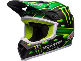 Casque BELL MX-9 Mips McGrath Showtime Replica Matte Black/Green taille XS - 801000060167