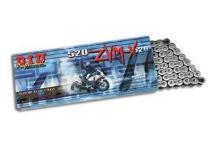 Chaîne de transmission D.I.D 520 ZVM-X noir/noir 108 maillons