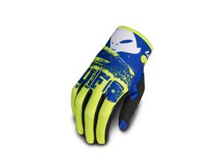 UFO Draft Gloves Neon Yellow/Blue Size L