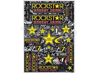 Kit Adhesivos Blackbird Rockstar Energy 5076L