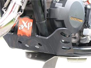 AXP Enduro HDPE Skid Plate Black KTM