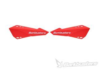 Kit completo paramanos de bicicleta Barkbusters rojo