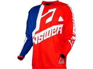 Camiseta Infantil Answer SYNCRON VOYD Rojo/REFLEX/Blanco, Talla YXS - 802000092287