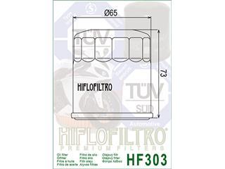 Filtre à huile HIFLOFILTRO HF303C chromé - fa10602a-640e-41c3-ac20-49eaff79f698