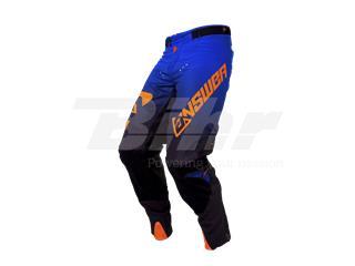 Pantalón ANSWER Trinity Negro/Azul Oscuro/Naranja Flúor Talla 34 (L) - 802100040134