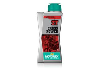 MOTOREX Cross Power 2T Motor Oil Synthetic 10 X 1L